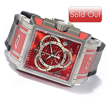 606-281 - Invicta Men's S1 Touring Swiss Chronograph Stainless Steel Strap Watch