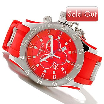 606-456 - Invicta Men's Offshore Russian Diver Swiss Quartz Chronograph Strap Watch w/ 8-Slot Dive Case