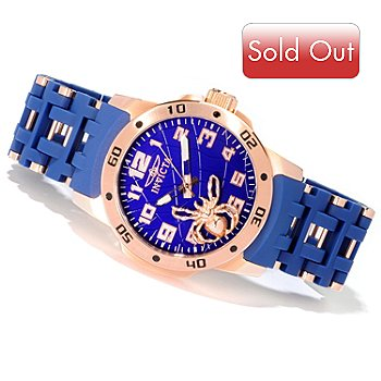 606-759 - Invicta Men's Sea Spider Stainless Steel Polyurethane Bracelet Watch