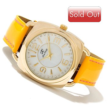 606-936 - Arm Candy by W Women's Quartz Leather Strap Watch