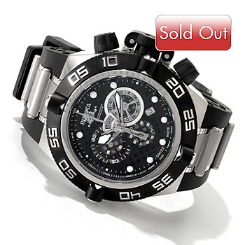 607-336 - Invicta Men's Subaqua Noma IV Swiss Chronograph Bracelet Watch w/ 3-Slot Dive Case