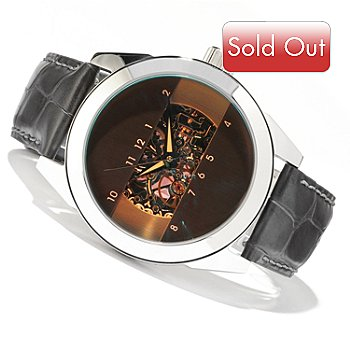 607-451 - Android Horizon Skeleton 2 Automatic Stainless Steel Strap Watch