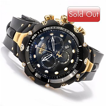 607-610 - Invicta Reserve Men's Venom Generation II Swiss Chronograph Strap Watch