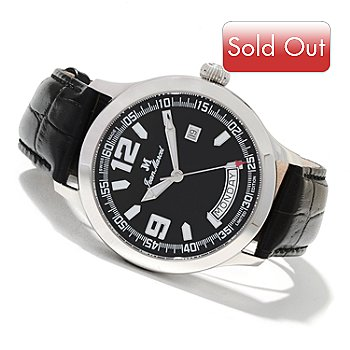 607-758 - Jean Marcel Men's Semper Limited Edition Swiss Automatic Strap Watch