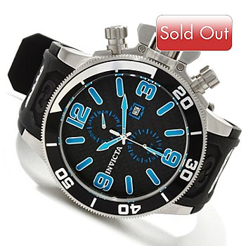 607-817 - Invicta Men's Corduba Interceptor Quartz GMT Polyurethane Strap Watch