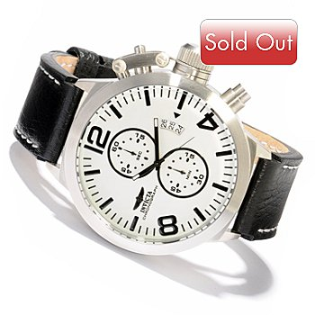 607-824 - Invicta Men's Corduba Quartz Chronograph Luminous Dial Strap Watch
