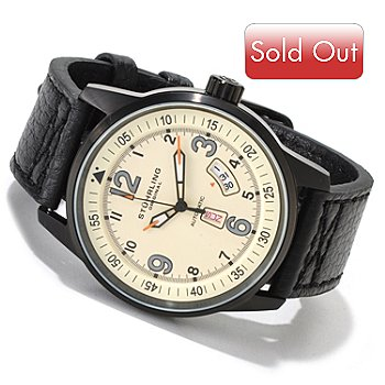 614-094 - Stuhrling Original Men's Tuskegee Skymaster Automatic Watch