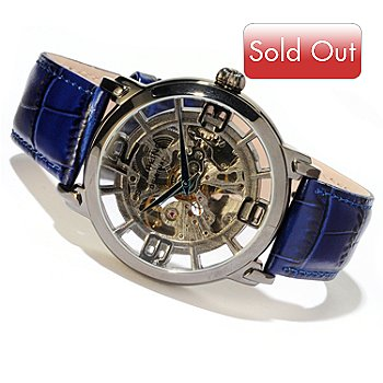 614-526 - Stuhrling Original Men's Winchester Grand Automatic Stainless Steel Strap Watch
