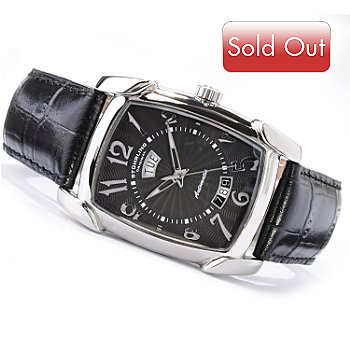 615-661 - Stuhrling Original Men's Madison Avenue Automatic Strap Watch