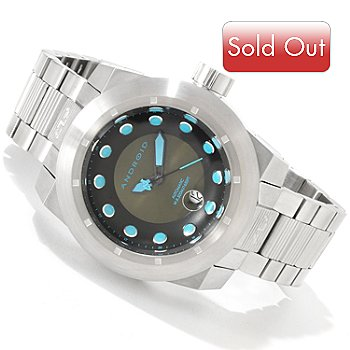 616-745 - Android Men's Volcano 50 Automatic Stainless Steel Bracelet Watch