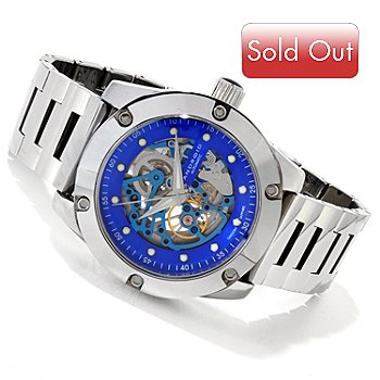 616-750 - Android Men's Antigravity Tungsten Skeletonized Dial Bracelet Watch