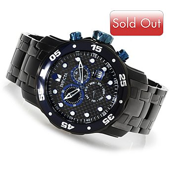 616-761 - Invicta Men's Pro Diver Scuba Quartz Chronograph Stainless Steel Bracelet Watch