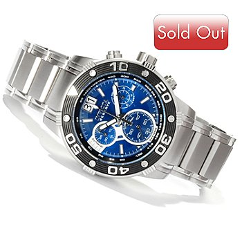 616-789 - Invicta Reserve Men's Swiss Made Ocean Speedway Quartz Chronograph Bracelet Watch