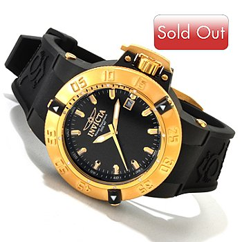 617-084 - Invicta Women's Subaqua Noma III Anatomic Quartz Silicone Strap Watch