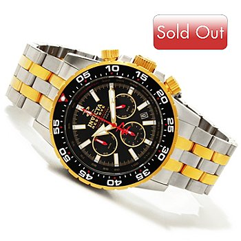 617-161 - Invicta Reserve Men's Ocean Master Automatic Bracelet Watch w/ 3-Slot Dive Case