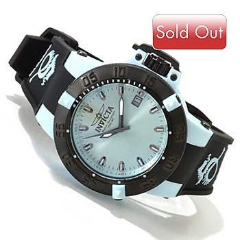 617-169 - Invicta Women's Subaqua Noma III Anatomic Quartz Sunray Dial Silicone Strap Watch