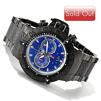 617-171 - Invicta Men's Subaqua Noma III Swiss Quartz Chronograph Stainless Steel Bracelet Watch