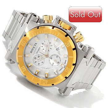 617-260 - Invicta Men's Coalition Forces Swiss Quartz Chronograph Interchangeable Bracelet Watch