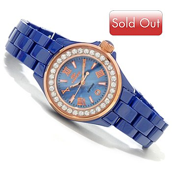 617-304 - Oniss Women's La Petite Princess Quartz Ceramic Bracelet Watch