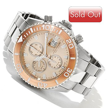 617-343 - Invicta Reserve Men's Pro Diver Swiss Valjoux 7750 Chronograph Bracelet Watch