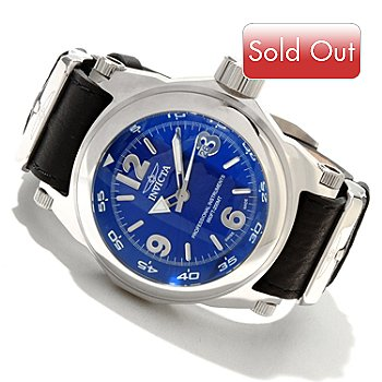 617-365 - Invicta Men's I Force Swiss Made Quartz Leather Strap Watch