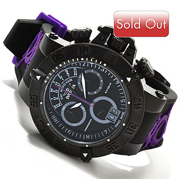617-374 - Invicta Men's Subaqua Noma III Special Edition Swiss Quartz Chronograph Silicone Strap Watch