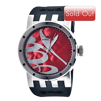 617-386 - Invicta Women's DNA Recycled Art Quartz Stainless Steel Case Silicone Strap Watch