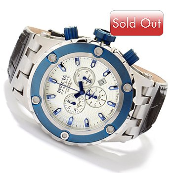 617-509 - Invicta Reserve Men's Specialty Subaqua Swiss Made Quartz Chronograph Strap Watch
