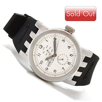 617-592 - Invicta Women's Vintage DNA Quartz Stainless Steel Silicone Strap Watch