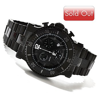 617-609 - Renato Men's T-Rex Diver Limited Edition Swiss Quartz Chronograph Stainless Steel Bracelet Watch