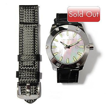617-682 - Android Men's Antigravity Limited Edition Automatic Tungsten Watch w/ Two Straps