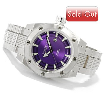 617-725 - Android Men's Powerjet Automatic Stainless Steel Bracelet Watch