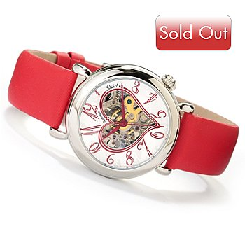 617-792 - Stuhrling Original Women's Cupid 2 Automatic Stainless Steel Strap Watch