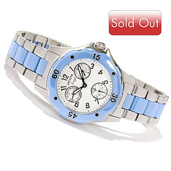 617-891 - Invicta Women's Classic Angel Quartz Ceramic & Stainless Steel Bracelet Watch