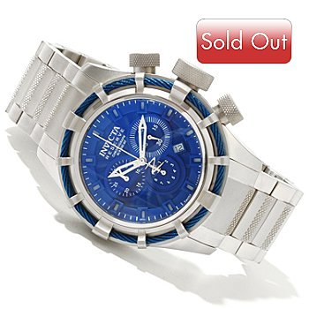 617-925 - Invicta Reserve Men's Bolt Swiss Made Quartz Chronograph Bracelet Watch