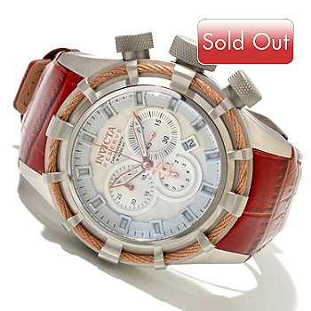 618-006 - Invicta Reserve Men's Bolt Sport Elegant Edition Swiss Chronograph Strap Watch