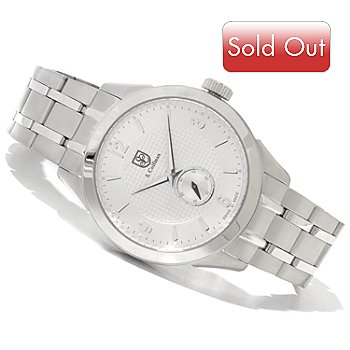 618-231 - S. Coifman Men's Swiss Made Quartz Stainless Steel Bracelet Watch