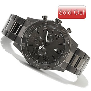 618-449 - Invicta Men's Ocean Sport Specialty Quartz Chronograph Stainless Steel Bracelet Watch