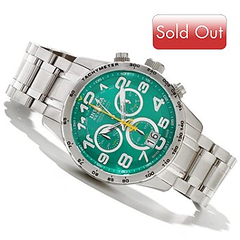 618-512 - Invicta Reserve Men's Military Swiss Made Quartz Chronograph Stainless Steel Bracelet Watch