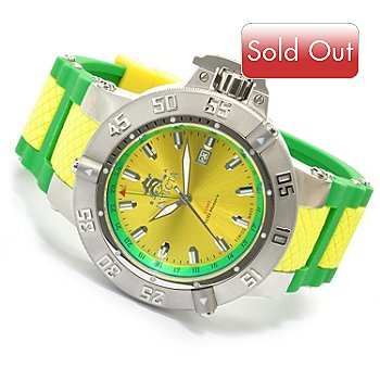618-674 - Invicta Mens' Subaqua Noma III Swiss Made Quartz ''Puppy Edition'' Silicone Strap Watch