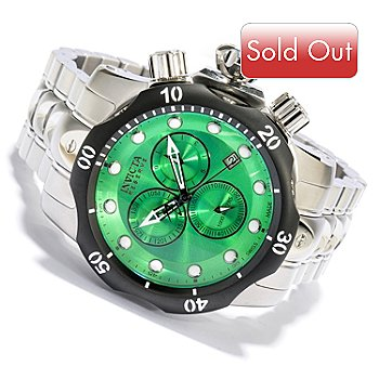 618-798 - Invicta Reserve Men's Venom Swiss Quartz Chronograph Stainless Steel Bracelet Watch