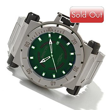 618-810 - Invicta Men's Coalition Force Swiss Automatic Limited Edition Titanium Bracelet Watch