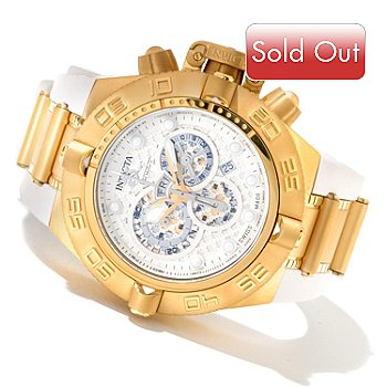 618-811 - Invicta Men's Subaqua Noma IV Swiss Made Quartz Chronograph Strap Watch