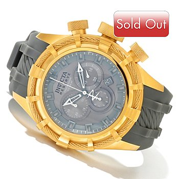 618-815 - Invicta Reserve Men's Bolt Sport Swiss Quartz Chronograph Silicone Strap Watch