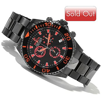 618-861 - Invicta Reserve Men's Pro Diver Swiss Quartz Chronograph Stainless Steel Bracelet Watch