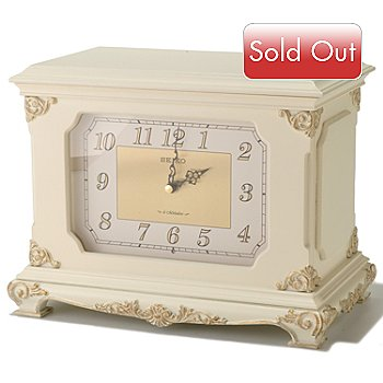 619-016 - Seiko Elegant Musical Jewelry Storage Clock