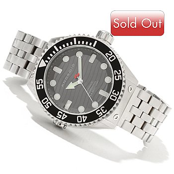 619-354 - Android Men's Divemaster Espionage 2 Automatic Stainless Steel Bracelet Watch