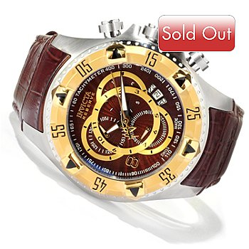 619-371 - Invicta Reserve Men's Excursion Elegant Touring Swiss Quartz Chronograph Watch