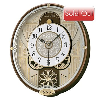 619-382 - Seiko Melodies in Motion ''Enchanted Symphonies'' Wall Clock