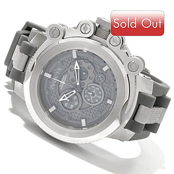 619-639 - Invicta Men's Coalition Forces Swiss Quartz Chronograph Polyurethane Strap Watch